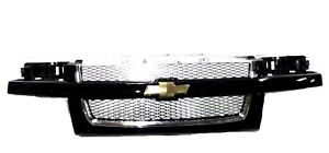 17801100 Front Grille Package Black 2004 2012 Chevrolet Colorado