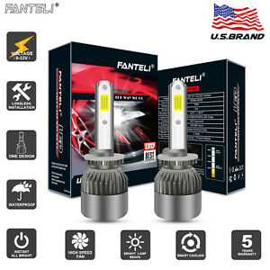 Fanteli 2100w 880 881 899 4300k Bulbs Cree Led Fog Lamp Foglight Conversion Kit