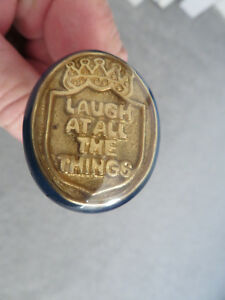 4 Vintage Old English Pub Cabinet Draw Knobs Sly Fox Laugh At All Things