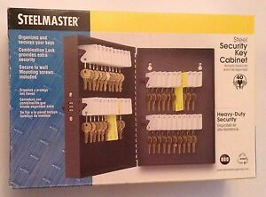 New Steelmaster Tiered Tray Cash Box Secure Bill Weights Accepts Security Cables