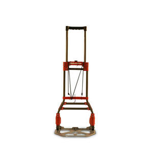 Milwaukee Hand Truck 150 Lbs Fold up Hand Truck With 5 Quiet Tpr Wheels