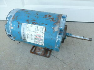 Used Tested Franklin Electric Pump Motor 3 4 Hp 115 230 Volts 3450 Rpm 1 Ph