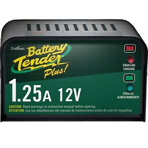 New Deltran Battery Tender Plus 12v 1 25a Automatic Battery Charger