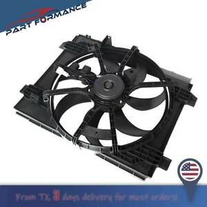 Fit Nissan Sentra 2013 2018 Radiator A c Ac Condenser Cooling Fan 214819am0a
