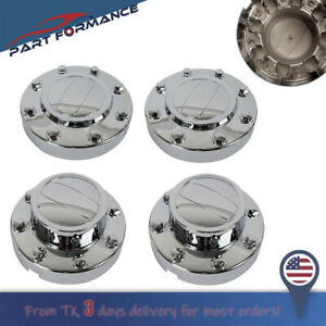 For 2011 2018 Dodge Ram 3500 Dually 1 ton Truck Alcoa Wheels Center Hub Caps Set