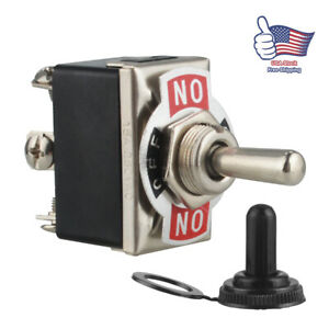 Heavy Duty 20a 250v Toggle Switch Control Dpdt 2 Pole Double Throw 6 Term On off