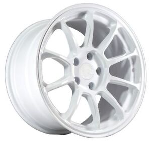 Aodhan Ah06 17x9 35 5x100 Matte White Concave Set Of 4