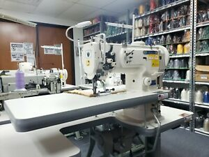 Thor Gc1341 Cylinder Arm Walking Foot Sewing Machine For Leather Vinyl Handbags