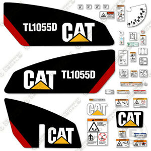 Caterpillar Tl1055d Telescopic Forklift Decal Kit Equipment Decals Tl 1055d