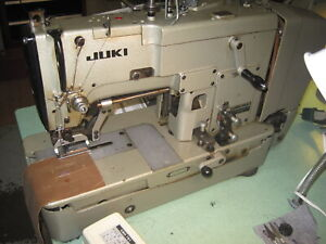 Juki Lbh 763 Buttonhole Industrial Sewing Machine With Cam Set