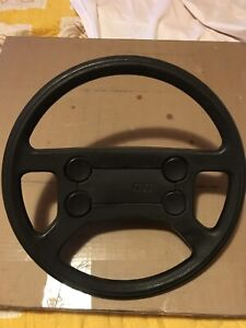 Rare Mk1 Oem Vw Gti Steering Wheel Will Fit Mk1 Vw Jetta Golf Rabbit
