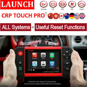 Launch X431 Creader Pro Touch Pro Obd2 Diagnostic Tool Engine Bms Srs Oil Reset
