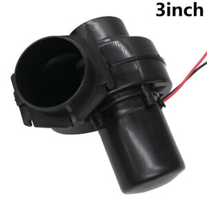 3 Inch Universal Electric Turbocharger Air Intake Generator Turbo Parts