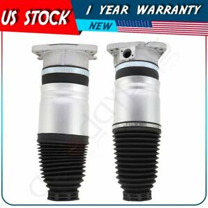 Rear Pair Air Suspension Bags Fit Vw Phaeton Bentley Continental Gt Gtc