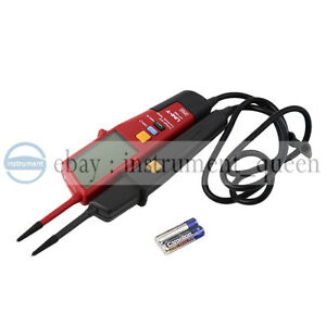 Uni t Ut18d Voltage And Continuity Testers 100v 690v rcd Test ip65