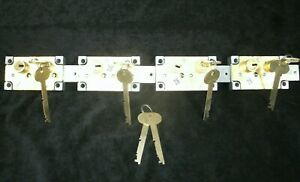 Lot Of 4 Ilco Precision Products 4100 Rh Safe Deposit Locks nos locksmith