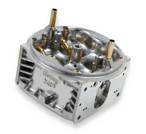 Holley Aluminum Identical Units Ultra Xp Replacement Main Body 600 Cfm Shiny