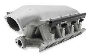 Holley Hi Ram Intake Manifold With 95mm Ls Throttle Body Flange Top For Ford