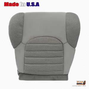 For 2005 2006 Nissan Pathfinder Xterra Driver Bottom Cloth Seat Cover In Gray