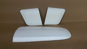 65 66 Mustang Shelby Hood Scoop Side Scoops Combo Bolt On