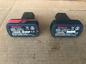 Snap On Tools 2 Two 14 4v Microlithium Batteries