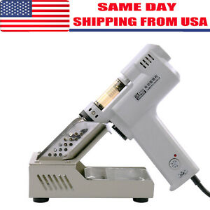 S 993a 110v 100w Electric Vacuum Desoldering Pump Solder Sucker Gun Us Stock