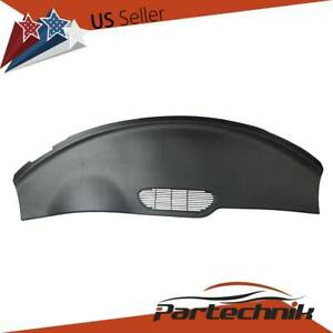 Fit 1997 1998 1999 2000 01 02 Firebird Camaro Molded Dash Cover Cap Skin Black