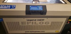 Epilog Legend 36 Ext 120 Watt Laser Pre Owned used One Owner Well Cared For