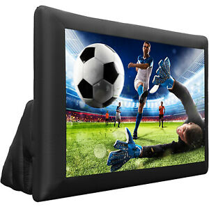 12ft Mega Screen Movie Screen Inflatable Projection Screen Portable W Blower