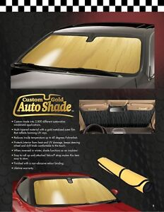 G ac 03 Gold Custom Auto Windshield Sun Shade For Acura Integra 1994 2001