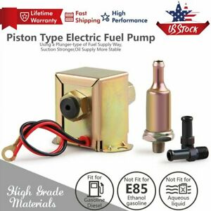 2 5 4psi Inline Fuel Pump Electric Most Lawn Mowers Small Engines Gas Diesel