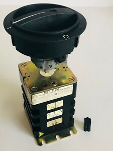 Siemens 187 2tc51 Rotary Disconnect Switch New Old Stock