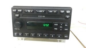 Ford 6 Disc Cd Sat Radio Am Fm Mach Oem Mustang Explorer Expedition 02 06 1r3f