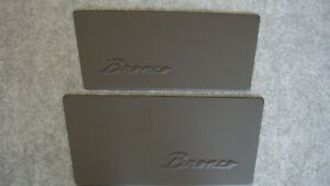 Early Bronco Custom Door Panels And Quarter Panels 1968 1977 Bronco
