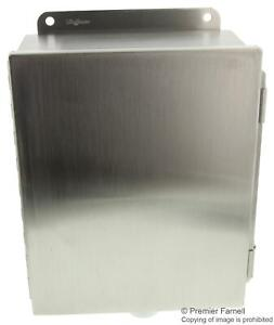 Hoffman Enclosures a1008chnfss enclosure junction Box stainless Steel