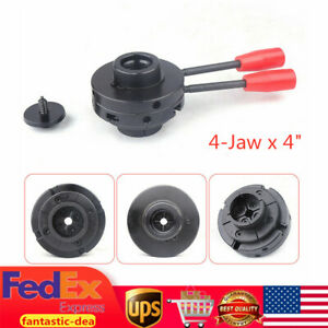 4 jaw X 4 Self centering Wood Lathe Bowl Chuck For Lathe M33 With Pitch 3 5 Usa