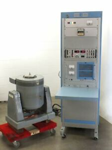 Unholtz Dickie T110 Electrodynamic Shaker With Ma250 110 Power Amplifier As Is