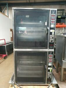 Henny Penny Scr 16 Electric 208v Double Stack Chicken Rotisserie