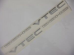 Civic Eg6 Dohc Vtec Decal 92 95 Jdm Sir Del Sol Crx D16 B16a