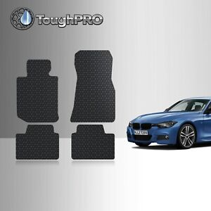 Toughpro Floor Mats Black For Bmw 330i All Weather Custom Fit 2019 2021