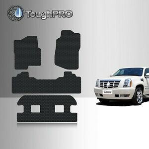 Toughpro Floor Mats 3rd Row Black For Cadillac Escalade Esv Bucket 2007 2014
