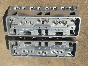Brodix 265 Canted Valve Small Block Chevrolet Cylinder Head Package