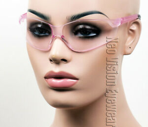 Erb Grace Pink Lens Safety Glasses Motorcycle Womens Z87
