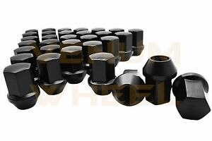 20 Pc Chevrolet Cadillac Buick Gmc Black Oem Factory Lug Nuts 14x1 5 22mm Hex