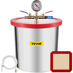 3 Gallon Vacuum Chamber Stainless Steel Kit Essential Oils Degassing Urethane