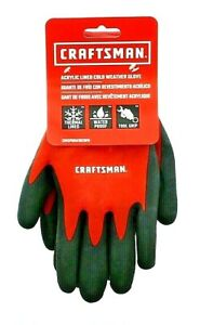 Craftsman Acrylic Thermal Lined Waterproof Lightweight Cold Weather Work Gloves