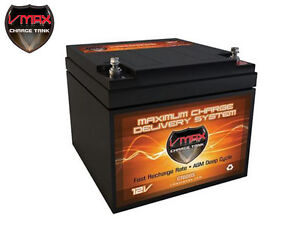 Vmax V28 800s Agm Deep Cycle12v 28ah Battery For Synthesis Renogy Pv Solar Panel