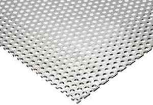 Perforated Aluminum Sheet 063 X 36 X 48 1 4 Holes 3 8 Staggers