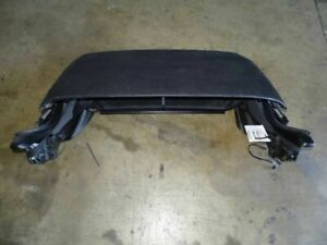 05 Porsche Boxster 987 Convertible Roof Top Assembly Black Glass Window