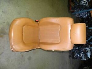 06 Maserati Quattroporte M139 Front Left Driver Seat Leather Electric Assy Tan
